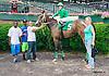 Maggiesfreuddnslip winning at Delaware Park on 6/17/15