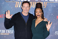 Jason Isaacs &amp; Sonequa Martin-Green at the special fan screening for &quot;Star Trek Discovery&quot; at Millbank Tower, London, UK. <br /> 05 November  2017<br /> Picture: Steve Vas/Featureflash/SilverHub 0208 004 5359 sales@silverhubmedia.com