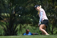 Stephanie Meadow (NIR) chips on to 4 during round 1 of the 2019 US Women's Open, Charleston Country Club, Charleston, South Carolina,  USA. 5/30/2019.<br /> Picture: Golffile | Ken Murray<br /> <br /> All photo usage must carry mandatory copyright credit (© Golffile | Ken Murray)
