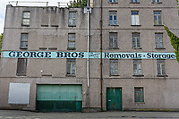 George Bros Removals and Storage in The Strand, Swansea, Wales, UK. Thursday 16 August 2018