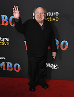 11 March 2019 - Hollywood, California - Danny DeVito. &quot;Dumbo&quot; Los Angeles Premiere held at Ray Dolby Ballroom. Photo <br /> CAP/ADM/BT<br /> &copy;BT/ADM/Capital Pictures