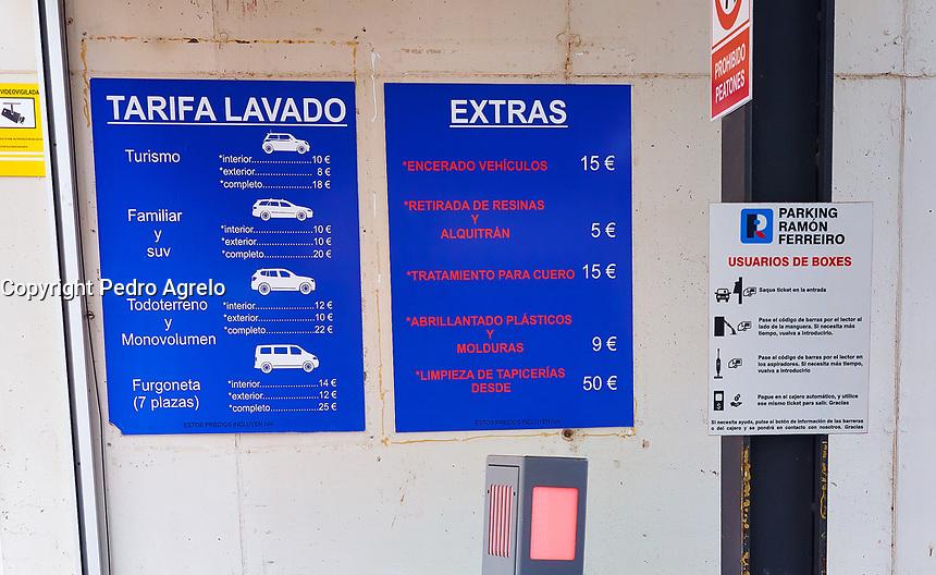 Fecha: 2017-03-30 Lugo parquing publico privado coches Jenaro Lamas para pagina web