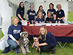 The girls from Drogheda Animal rescue at Oldbridge House County Fair. Photo:Colin Bell/pressphotos.ie