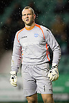 Hibs v St Johnstone....21.12.13    SPFL<br /> Alan Mannus<br /> Picture by Graeme Hart.<br /> Copyright Perthshire Picture Agency<br /> Tel: 01738 623350  Mobile: 07990 594431