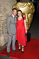 Louis Payne &amp; Leona Vaughan at the British Academy Childrens Awards 2017 at the Roundhouse, Camden, London, UK. <br /> 26 November  2017<br /> Picture: Steve Vas/Featureflash/SilverHub 0208 004 5359 sales@silverhubmedia.com