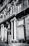 Palazzo Reale, Royal Palace in Piazza Plebiscito, Naples,Italy