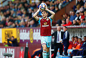 10th September 2017, Turf Moor, Burnley, England; EPL Premier League football, Burnley versus Crystal Palace; Stephen Ward of Burnley takes a throw in