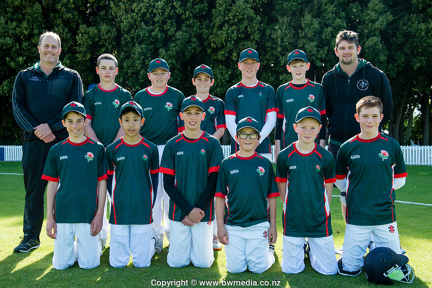 Raroa Normal Intermediate School. National Primary Cup boys' cricket tournament at Lincoln Domain in Christchurch, New Zealand on Wednesday, 20 November 2019. Photo: John Davidson / bwmedia.co.nz