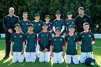Raroa Normal Intermediate School. National Primary Cup boys' cricket tournament at Lincoln Domain in Christchurch, New Zealand on Wednesday, 20 November 2019. Photo: John Davidson / bwmedia.co.nz