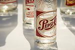 Antique PepsiCola bottle. 1950's
