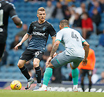 21.07.2019: Rangers v Blackburn Rovers: Steven Davis and Bradley Johnson