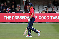Alastair Cook of Essex leaves the field having been dismissed during Essex Eagles vs Gloucestershire, Royal London One-Day Cup Cricket at The Cloudfm County Ground on 7th May 2019