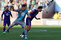 Minneapolis, MN - Saturday, May 27, 2017: Minnesota United FC played Orlando City SC in a Major League Soccer (MLS) game at TCF Bank stadium. Final score Minnesota United 1, Orlando City SC 0