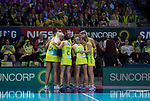 28/10/17 Fast5 2017<br /> Fast 5 Netball World Series<br /> Hisense Arena Melbourne<br /> Match <br /> <br /> <br /> <br /> <br /> <br /> Photo: Grant Treeby