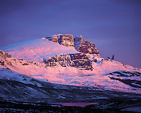 Sunrise light on The Storr, Trotternish, Isle of Skye, Scotlan