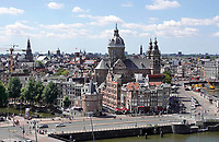 Nederland - Amsterdam - 2018. De Nicolaaskerk aan de Prins Hendrikkade.   Foto Berlinda van Dam / Hollandse Hoogte.