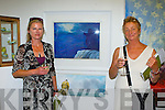 Mary Neville Teer Gallery Brandon and Sue Hook Finn Studio Brandon  at the Gathering Art exhibition in the Department of Arts, Tourism and the Gaelteacht on Monday evening