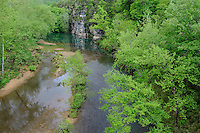 Buffalo River from Highway 7 Bridge<br />