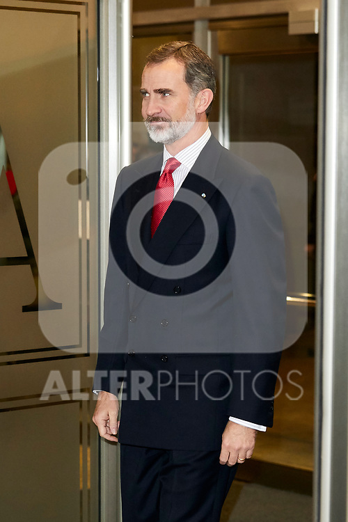 King Felipe VI of Spain attends to Spanish Constitution 40th Anniversary Concert at National Auditorium of Music in Madrid, Spain. December 05, 2018. (ALTERPHOTOS/A. Perez Meca)