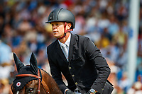 BEL-Jerome Guery rides Quel Homme De Hus during the Rolex Grand Prix of Aachen - Round 1. 2019 GER-CHIO Aachen Weltfest des Pferdesports. Sunday 21 July. Copyright Photo: Libby Law Photography