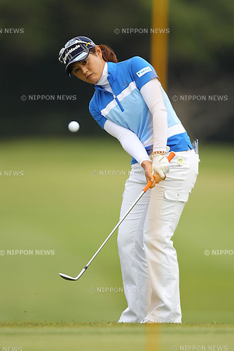 Shinobu Moromizato (JPN), March 4, 2011 - Golf : Daikin Orchid Ladies Golf Tournament, 1st Round at Ryukyu Golf Club, Okinawa, Japan. (Photo by Daiju Kitamura/AFLO SPORT) [1045]