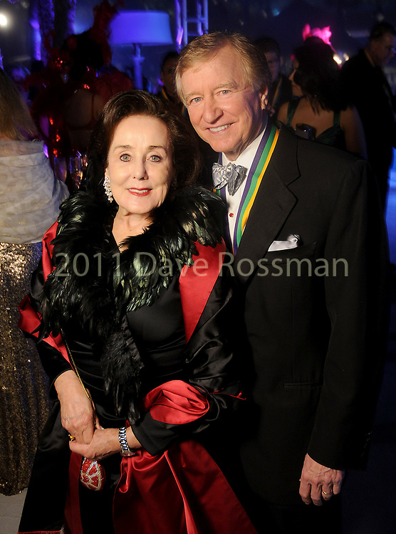 """Betty and Jess Tutor at the San Luis Salute """"Hollywood Dinner Club"""" in Galveston Friday Feb. 09,2018. (Dave Rossman Photo)"""