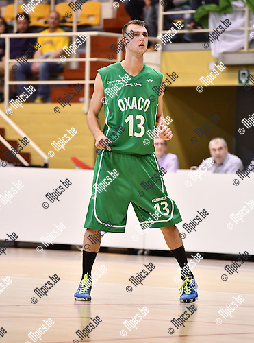 2016-10-11 / Basketbal / Seizoen 2016-2017 / Oxaco BBC / Gregory Nau <br /> <br /> ,Foto: Mpics.be