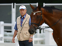 Olympia 2012 London  Reiten Vielseitigkeit  27.07.2012 Trainer Joachim Jung (Deutschland)