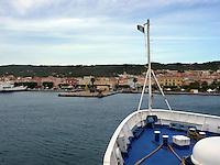 GIU 2010 Sardegna, traghetto per Carloforte, Isola di San Pietro.JUN 2010 Sardinia, ferry to Carloforte, San Pietro Island