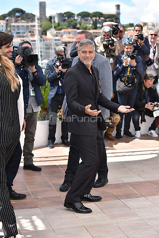 George Clooney at 'Money Men' photocell during the 69th International Cannes Film Festival, France<br /> May 12, 2016<br /> CAP/PL<br /> &copy;Phil Loftus/Capital Pictures /MediaPunch ***NORTH AMERICA AND SOUTH AMERICA ONLY***