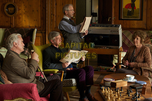 BILLY CONNOLLY, TOM COURTENAY, ANDREW SACHS & PAULINE COLLINS.in Quartet (2012).*Filmstill - Editorial Use Only*.CAP/NFS.Supplied by Capital Pictures.