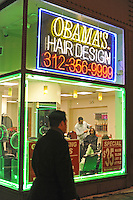 Obama's, Formerly Ossama's, Hair Salon (USA)