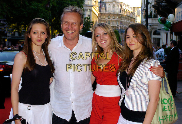 """ANTHONY HEAD & FAMILY.The """"Stormbreaker"""" world premiere at Vue West End, London, UK..July 17th, 2006.Ref: CAN.half length kids children father daughters siblings.www.capitalpictures.com.sales@capitalpictures.com.©Capital Pictures"""
