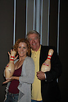 One Life To Live Jerry verDorn and Liz Keifer (GL, OLTL and GH) at the Daytime Stars and Strikes Charity Event to benefit the American Cancer Society at the Bowlmore Lanes, New York City, New York featuring actors from One Life To Live and Guiding Light hosted by Jerry verDorn and Liz Keifer. (Photo by Sue Coflin/Max Photos)