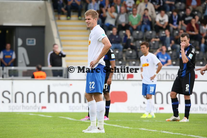 Simon Terodde (Bochum) steht zum Elfmeter bereit - FSV Frankfurt vs. VfL Bochum, Frankfurter Volksbank Stadion