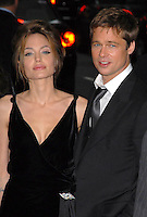 "20 September 2016 - Los Angeles, CA - Angelina Jolie Pitt has filed for divorce from Brad Pitt. Jolie Pitt, 41, filed legal docs Monday citing irreconcilable differences. Jolie Pitt requested physical custody of the couple's shared six children – Maddox, Pax, Zahara, Shiloh, Vivienne, and Knox – asking for Pitt to be granted visitation, citing legal documents. File Photo: 13 June 2007 - New York City, New York - Angelina Jolie and Brad Pitt. ""A Mighty Heart"" at the Ziegfeld Theater. Photo Credit: Bill Lyons/AdMedia"