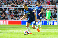 Eden Hazard of Chelsea during Newcastle United vs Chelsea, Premier League Football at St. James' Park on 13th May 2018