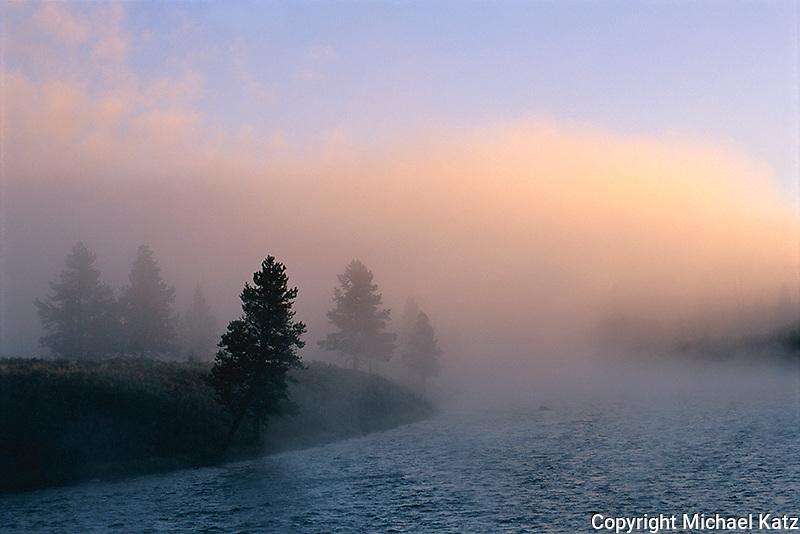 Sunrise, Madison River