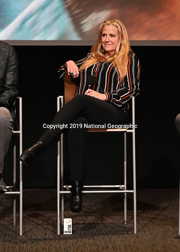 "LOS ANGELES - JUNE 5:  Lori McCreary attends an FYC event for National Geographic's ""The Story of God"" at the TV Academy on June 5, 2019 in Los Angeles, California. (Photo by Scott Kirkland/National Geographic/PictureGroup)"