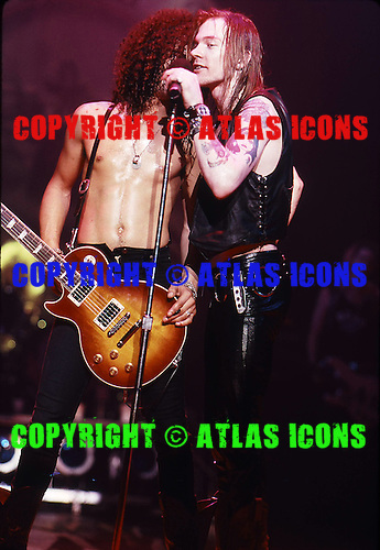 W. Axl Rose Lead Singer of Guns n Roses Live 1986-1988.Photo Credit: Eddie Malluk/Atlas Icons.com