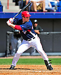 8 March 2010: Washington Nationals' outfielder Josh Willingham in action during a Spring Training game against the Florida Marlins at Space Coast Stadium in Viera, Florida. The Marlins defeated the Nationals 12-2 in Grapefruit League action. Mandatory Credit: Ed Wolfstein Photo