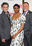 John Glover, Condola Rashad and Patrick Page attends the Broadway Opening Night After Party for 'Saint Joan' at the Copacabana on April 25, 2018 in New York City.