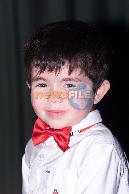 Patrick Duff from Dromin who took part in the Mary Simpson Stage School Christmas Show..Picture Paul Mohan Newsfile