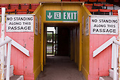 23/06/2000 Blackpool FC Bloomfield Road Ground..West paddock centre entrance/exit.....© Phill Heywood.