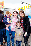 Wiiilam Fleming, Thecla O'Connor, Dylan Fleming and Anny Murphy  at  Bikefest in Killarney on Sunday