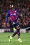 UEFA Champions League 2018/2019.<br /> Round of 16 2nd leg.<br /> FC Barcelona vs Olympique Lyonnais: 5-1.<br /> Ousmane Dembele.