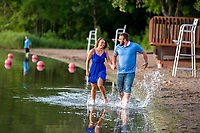 Engagement photography for Jordan and Becca at Weaver Lake Park, Maple Grove MN Minneapolis suburb