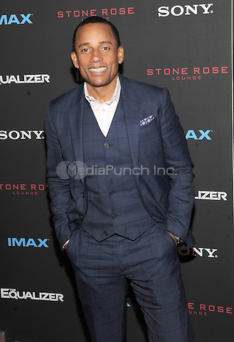 New York, NY-September 22: Actor Hil Harper attends a special screening of The Equalizer at the AMC Lincoln Square 13 IMAX on September 22, 2014 in New York City.  Credit: John Palmer/MediaPunch