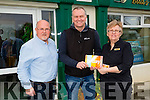 "Daithi O'Sé RTE TODAY presented a cheque of €10,000 to Anthony O'Carroll and Nora Lucid of Buds Family Resource Centre,Ballyduff on Wednesday at the Bud Family Resource Centre, sponsored by Calor Gas and The Farmers Journal as the won the ""Village with a Vision"""