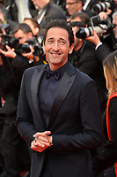 "CANNES, FRANCE. May 21, 2019: Adrien Brody  at the gala premiere for ""Once Upon a Time in Hollywood"" at the Festival de Cannes.<br /> Picture: Paul Smith / Featureflash"